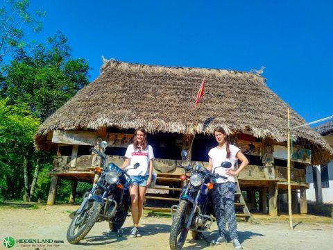 hue to Sao gon motorbike rental