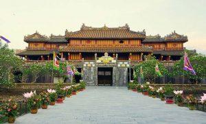 Ngo Mon gate Citadel Hue