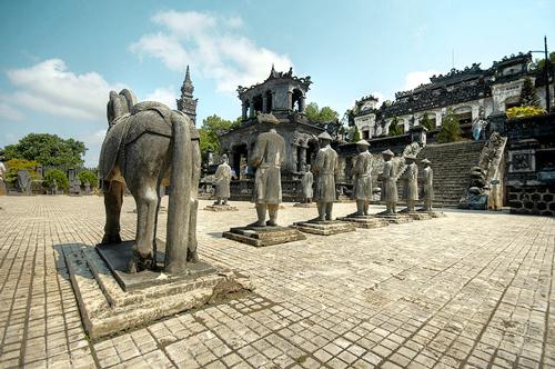 Khai Dinh Hue Tombs