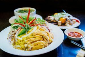 Chicken rice best food in Hoi An